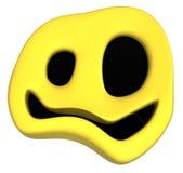 Glückliches Symbol sonderbar lizenzfreie abbildung