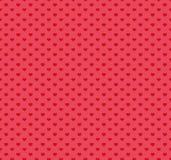 Glückliches Valentinsgruß-Tagesmuster mit Herzen Auch im corel abgehobenen Betrag Stockbilder