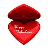 Glückliches Valentinsgrußinneres lizenzfreie abbildung