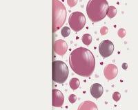 Glückliches Valentinstag-Design lizenzfreie abbildung