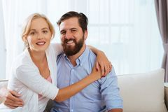 Glückliches verheiratetes Paar Lizenzfreie Stockfotografie