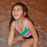 Glückliches Wasser-Baby! stockbilder