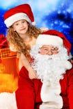 Glückliches Weihnachten Stockfotografie