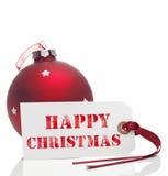 Glückliches Weihnachten Lizenzfreies Stockfoto