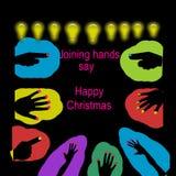 Glückliches Weihnachten stock abbildung