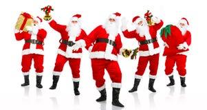 Glückliches Weihnachten Sankt. stockbild