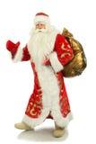 Glückliches Weihnachten Sankt. Lizenzfreie Stockfotos