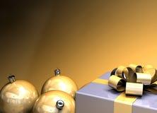Glückliches Weihnachtshintergrund Lizenzfreies Stockfoto