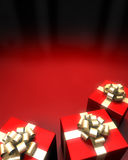 Glückliches Weihnachtshintergrund Lizenzfreie Stockbilder