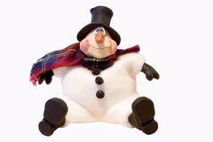 Glückliches Weihnachtslebewesen Lizenzfreie Stockbilder