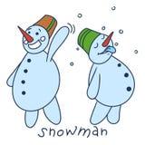 Glückliches Weihnachtsrotwild Stockfotos