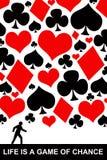 Glücksspiel vektor abbildung
