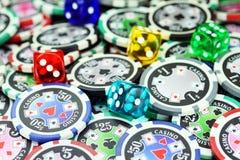 Glücksspiel verantwortlich Lizenzfreies Stockbild