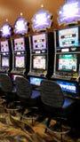 Glücksspielzeit Stockfotos