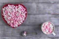 Glückwünsche auf Valentinstag Lizenzfreies Stockfoto