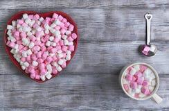 Glückwünsche auf Valentinstag Lizenzfreie Stockbilder