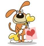 Glückwünsche mit Liebe Stock Abbildung
