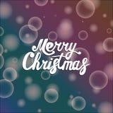 Glückwünsche mit Weihnachten stock abbildung