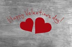 Glückwünsche Zum Glücklichen Valentinstag Lizenzfreie Stockfotografie