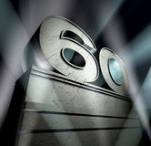 Glückwunsch 60 Lizenzfreie Stockbilder