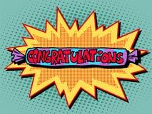 Glückwunschsüßigkeitsbonbons Lizenzfreies Stockbild