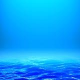 Glühen über dem Wasser vektor abbildung