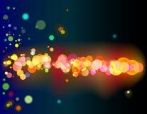 Glühen. Lizenzfreie Stockfotos
