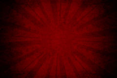 Glühen auf rotem Papier Lizenzfreie Stockbilder