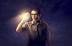 Glühen in der Dunkelheit Lizenzfreies Stockfoto