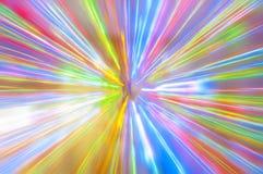 Glühen der Farbe Stockbilder