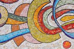 Glühen-mehrfarbiges Mosaik Lizenzfreie Stockfotografie