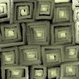 Glühende Beschaffenheit von grauen Quadraten, Abstraktion für einen Hintergrund lizenzfreie abbildung