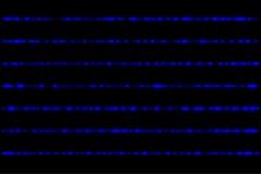 Glühende blaue Strahlen Stockbilder