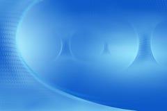 Glühende blaue Trichter lizenzfreie abbildung