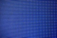 Glühende geführte Platte Abstrakter blauer Hintergrund Stockfoto