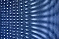 Glühende geführte Platte Abstrakter blauer Hintergrund Lizenzfreies Stockbild