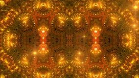 Glühende goldene Diskette stock footage