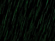 Glühende Grüne Grenzen verfasst mit schwarzen Hintergründen lizenzfreie abbildung
