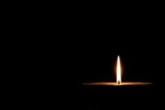 Glühende Kerze Lizenzfreie Stockbilder