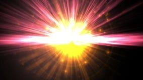 Glühende Leuchten stock abbildung