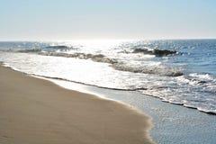 Glühende Meere auf Sunny Day Lizenzfreies Stockfoto