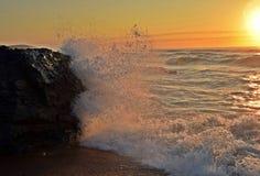 Glühende Meere lizenzfreie stockfotos