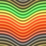 Glühende Neonzeilen Stockfotos