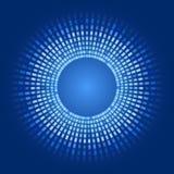 Glühende Pixel des abstrakten Hintergrundes des Vektors Lizenzfreies Stockfoto
