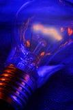 Glühende schwache Glühlampe Lizenzfreies Stockfoto