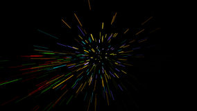 Glühende wellenförmige Zeilen Lizenzfreies Stockbild