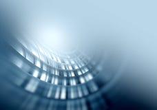 Glühender abstrakter Hintergrund des grauen Weiche stock abbildung