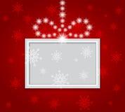 Glühender glänzender Weihnachtshintergrund. Lizenzfreie Stockfotografie