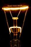 Glühender Glühlampeheizfaden Lizenzfreies Stockbild