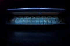 Glühender Handy Stockbild